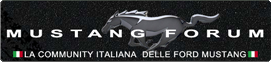 MustangForum - The first Ford Mustang community in Italy