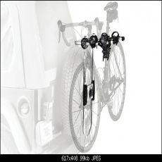 Portabici per ruota di scorta originale Jeep