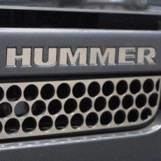Lettere Cromate HUMMER anteriori