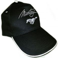 Cappello con logo Mustang