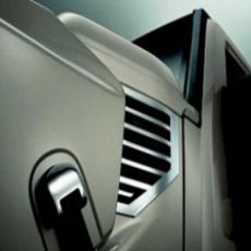 Copertura cromata Side Air Vents