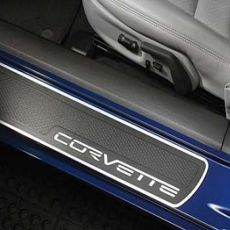 Protezione sottoporta con logo Corvette Bright
