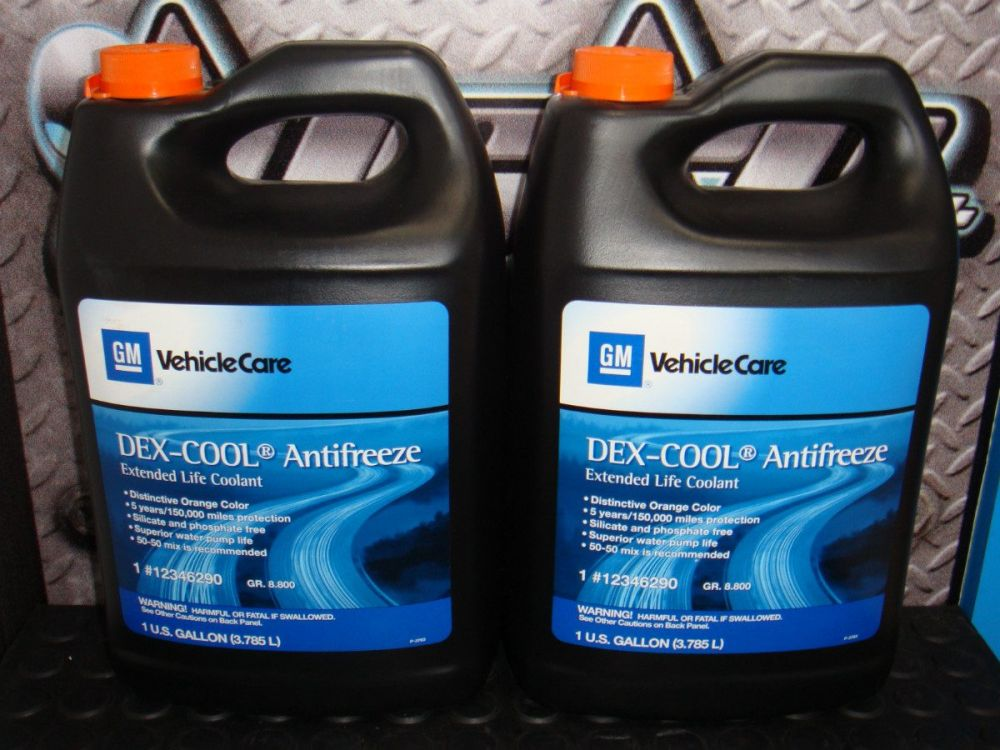 12346290 - COOLANT,ENG DEXCOOL ANTIF1GAL -Professional Use Only-
