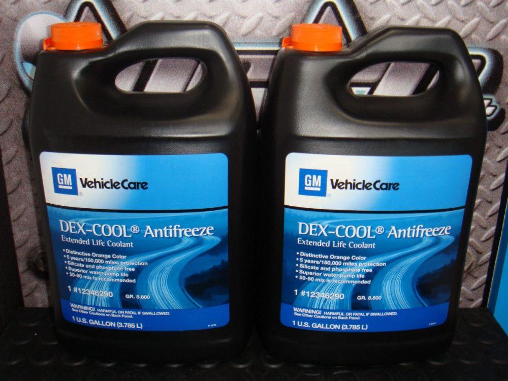 12346290 Coolant Eng Dexcool Antif1gal Professional Use