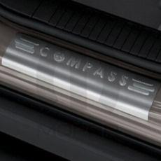Compass Logo Door Sill Guard